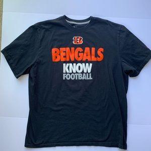 Men's XXL Bengals Nike Football Shirt